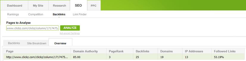 SEO Backlinks Overview